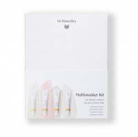 Multimasker cadeauset. 4 natuurlijke gezichtsmaskers in 1 doos