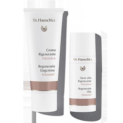 Dr Hauschka Regeneratie Intensief: Dagcrème en Olie voor de rijper huid die de hoogste eisen stelt