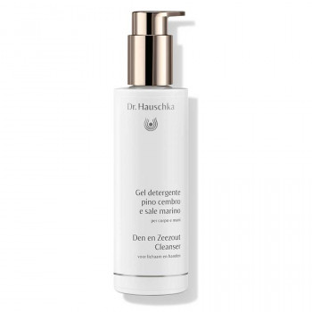 Den en Zeezout Cleanser van Dr. Hauschka, activating & de-stressing cleanser